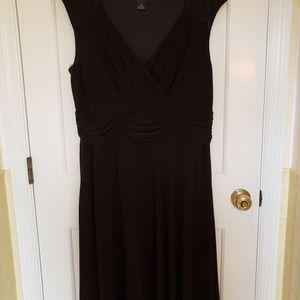 Jessica Howard black special occasion dress.